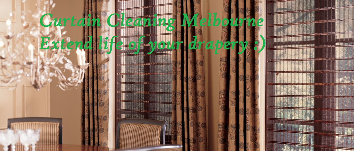 Curtain Cleaning Melbourne - Extend Life of your drapery