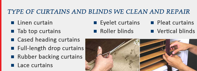 Types of Curtains and Blinds Seville