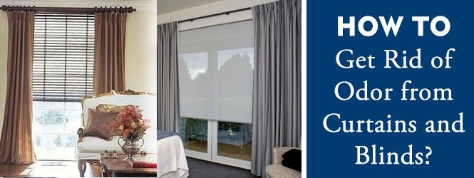 How to clean Curtains and Blinds