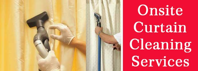Onsite Curtain Cleaning Woolshed Flat