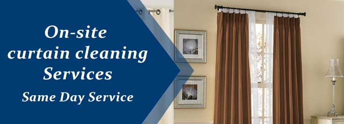 Onsite Curtain Cleaning Services Rhymney