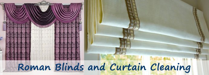 Roman Blinds and Curtain Cleaning