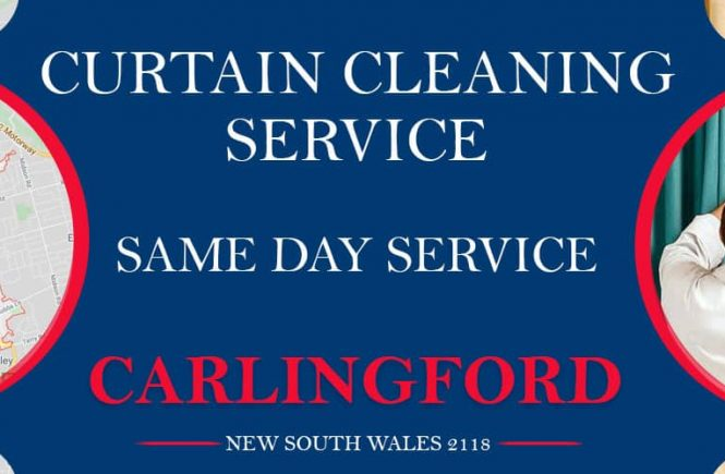 Curtain Cleaning Carlingford