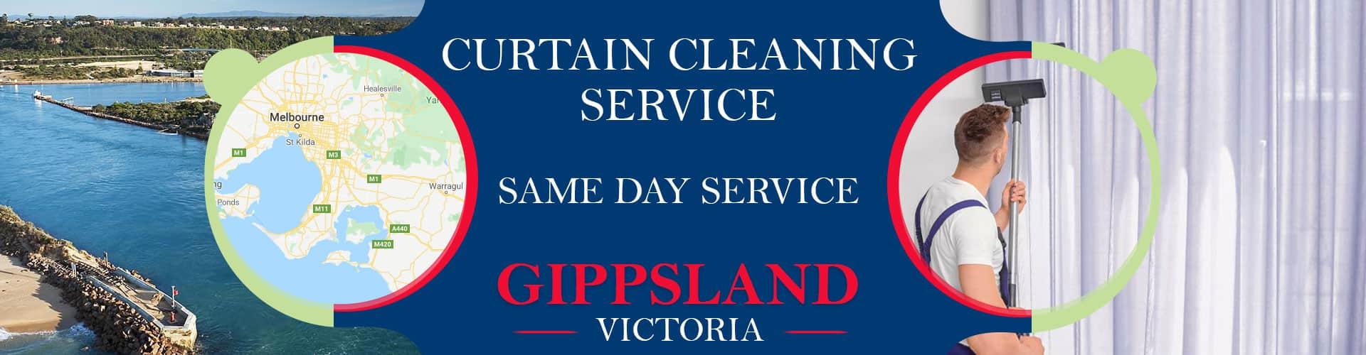 Curtain Cleaning Gippsland