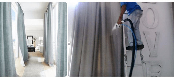 Remove Dried Phlegm Stains From Curtains